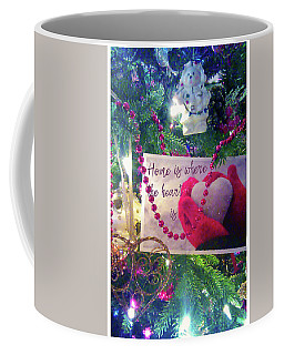 Coffee Mug featuring the photograph Home Is Where The Heart Is by Toni Hopper