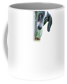 Home Is Where Your Dachshund Is Coffee Mug by Mark Andrew Thomas