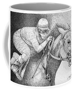 Home Stretch Coffee Mug by Lawrence Tripoli