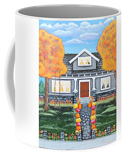 Home Sweet Home - Comes Autumn Coffee Mug