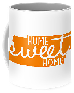 Coffee Mug featuring the digital art Home Sweet Home Tennessee by Heather Applegate