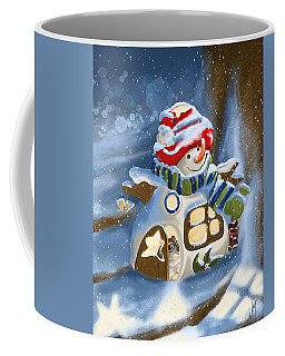 Coffee Mug featuring the painting Home Sweet Home by Veronica Minozzi
