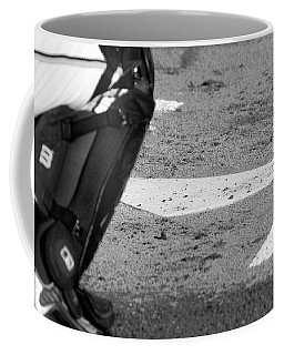 Coffee Mug featuring the photograph Homeland Security by Laddie Halupa