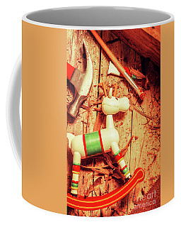 Homemade Christmas Toy Coffee Mug