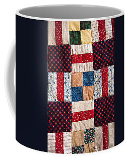 Homemade Quilt Coffee Mug by Christopher Holmes