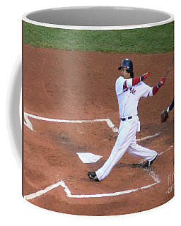 Homerun Swing Coffee Mug by Kevin Fortier