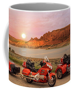 Honda Goldwing Bike Trike And Trailer Coffee Mug