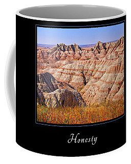 Coffee Mug featuring the photograph Honesty 1 by Mary Jo Allen