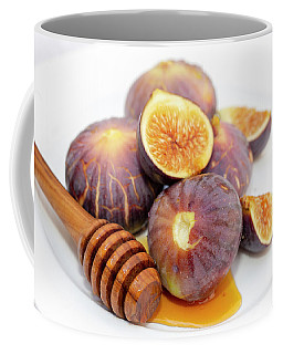 Honey And Figs On A Plate Coffee Mug