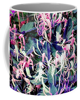 Honeysuckle Dance Coffee Mug by Rachel Hannah