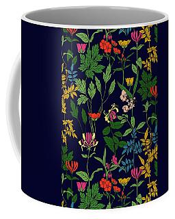 Honeysuckle Floral Coffee Mug