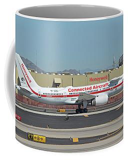 Honeywell Boeing 757-225 N757hw Phoenix Sky Harbor September 30 2017 Coffee Mug