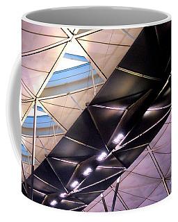 Coffee Mug featuring the photograph Hong Kong Airport by Randall Weidner