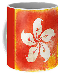 Hong Kong China Flag Coffee Mug