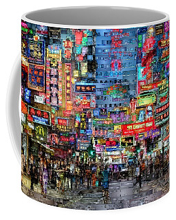 Hong Kong City Nightlife Coffee Mug