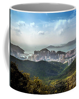 Hong Kong From Victoria Peak Coffee Mug by Lynn Bolt