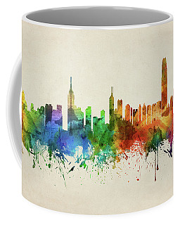 Hong Kong Skyline Chhk05 Coffee Mug