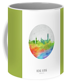 Hong Kong Skyline Chhk20 Coffee Mug