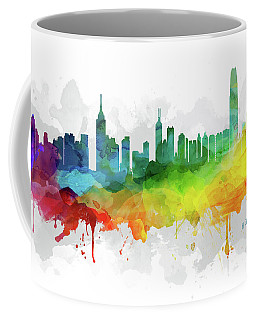 Hong Kong Skyline Mmr-chhk05 Coffee Mug