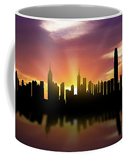 Hong Kong Skyline Sunset Chhk22 Coffee Mug