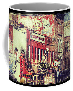 Honky Tonk Row - Nashville Coffee Mug