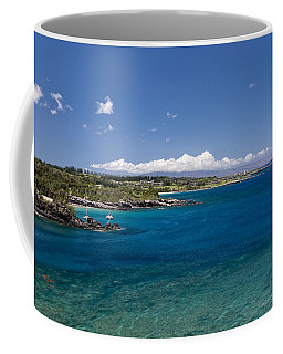 Coffee Mug featuring the photograph Honolua Bay by Jim Thompson