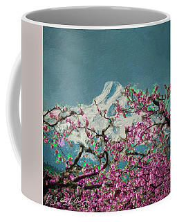 Coffee Mug featuring the digital art Hood Blossoms by Dale Stillman