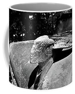 Hood Ornament Detail Coffee Mug
