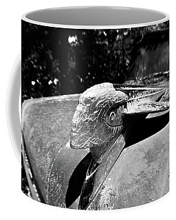Hood Ornament Detail Coffee Mug