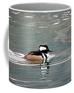 Coffee Mug featuring the photograph Hooded Merganser 4 by Gary Hall