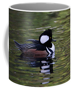 Hooded Merganser Duck Coffee Mug