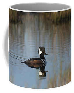 Hooded Merganser In The Early Morning Light Coffee Mug