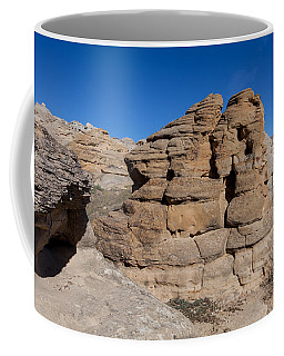 Coffee Mug featuring the photograph Hoodoo Stack by Fran Riley