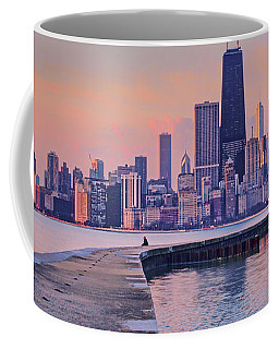 Hook Pier - North Avenue Beach - Chicago Coffee Mug