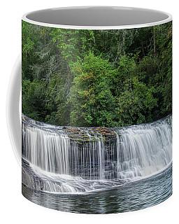 Coffee Mug featuring the photograph Hooker Falls by Steven Richardson