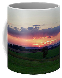 Hoosier Sunset Coffee Mug