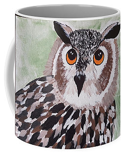 Hoot Coffee Mug by Judi Goodwin