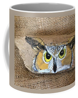 Hoot Owl Coffee Mug by Ann Michelle Swadener
