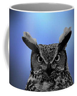 Hooting The Blues Coffee Mug