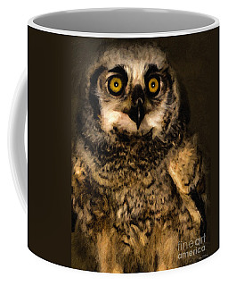 Hooty Coffee Mug by Adam Olsen