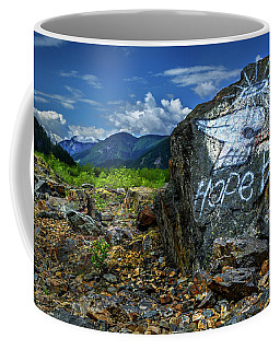 Coffee Mug featuring the photograph Hope II by John Poon