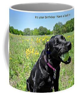 Hope It's A Ball Coffee Mug