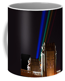 Hope Memorial Bridge, Aha Lights Coffee Mug