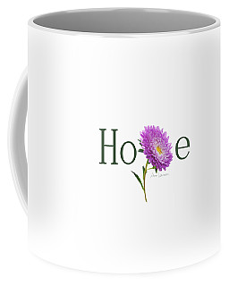 Hope Shirt Coffee Mug by Ann Lauwers