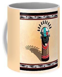 Hopi Sun Face Kachina Coffee Mug