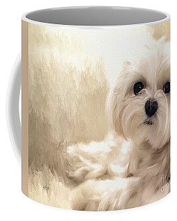 Hoping For A Cookie Coffee Mug by Lois Bryan