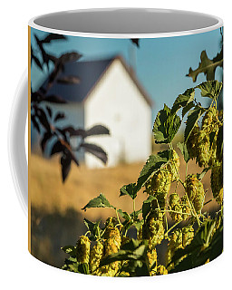 Coffee Mug featuring the photograph Hops At Sunset by Mark Mille