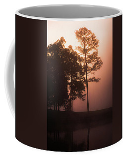 Coffee Mug featuring the photograph Horizon Glow by Parker Cunningham