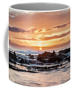Horizon In Paradise Coffee Mug by Heather Applegate
