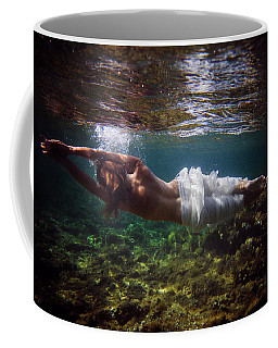 Horizontal Mermaid Coffee Mug